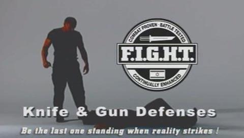 دفاع در برابر حملات با چاقو و تفنگ و خلع سلاح کردن حریف